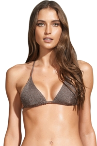 ViX Tricot Triangle Halter String Bikini Top