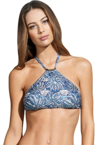 ViX Jakarta Thai High Neck Halter Bikini Top