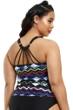 Fashion to Figure Maria Strappy Back Tankini Top