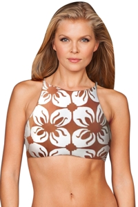 Stone Fox Swim Indo Tile Namema Bikini Top