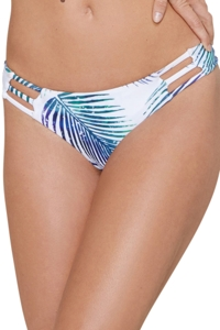 Stone Fox Swim Petrogleaf Strappy Brazilian Bikini Bottom