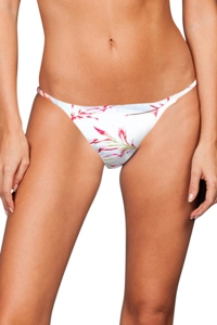 Stone Fox Swim Petit Isle Puka Brazilian Bikini Bottom