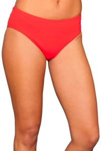 Calvin Klein Fiery Red Classic Brief Swim Bottom
