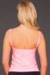Miraclesuit Pink Carnation Kara Underwire Lingerie Tankini Top