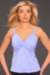 Miraclesuit Periwinkle Roswell D-Cup Underwire Tankini Top