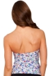 Profile by Gottex Beach Glass Twist Front Bandeau Tankini Top