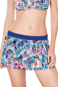 Profile by Gottex Spring Awakening Banded Waist Wrap Swim Skirt