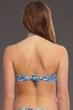 La Blanca Serpentina Bandeau Bikini Bra