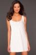 La Blanca White Jersey Tank Dress