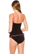 Profile by Gottex Pink Cabaret Bandeau Tankini Top