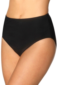 Kallure Black Full Brief Swim Bottom