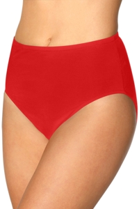 Kallure Red Full Brief Swim Bottom