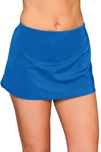 Kallure Blue Swim Skirt Bottom