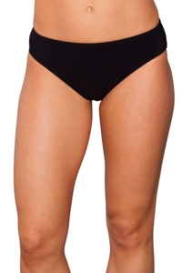 Kallure Black Hipster Swim Bottom