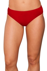 Kallure Red Hipster Swim Bottom