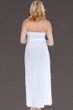 Dotti White Stripe Sensation Halter Maxi Dress