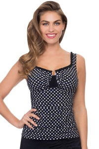 Profile by Gottex Bali Tab Front Tankini Top