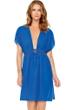 Gottex Gold Standard Blue Beach Dress