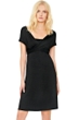 5-in-1 Gottex Lattice Black Beach Dress