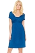 5-in-1 Gottex Lattice Blue Beach Dress