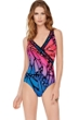 Gottex Monarch Surplice One Piece Swimsuit