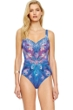 Gottex Dream Catcher Square Neck One Piece Swimsuit