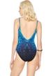 Gottex Emerald Isle V-Neck High Back One Piece Swimsuit