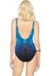 Gottex Emerald Isle Square Neck One Piece Swimsuit