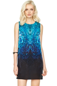 Gottex Emerald Isle Silk Dress
