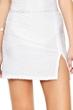 Gottex Essence White Side Slit Cover Up Skirt