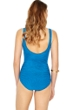 Gottex Essence Azure V-Neck Surplice High Back One Piece Swimsuit