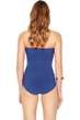 Gottex Essence Sapphire Bandeau Skirted One Piece Swimsuit