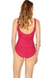 Gottex Essence Rose Square Neck High Back One Piece Swimsuit