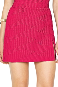 Gottex Essence Rose Side Slit Cover-Up Skirt