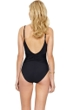 Gottex Grace Kelly Black Round Neck One Piece Swimsuit