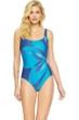 Gottex Kaleidoscope Square Neck One Piece Swimsuit