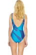 Gottex Kaleidoscope Square Neck One Piece Swimsuit