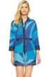 Gottex Kaleidoscope Silk Blouse Dress