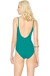 Gottex Landscape Emerald Round Neck One Piece Swimsuit