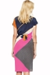 Gottex Maritime Orange Silk Kimono with Belt