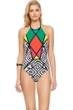 Gottex Mozambique High Neck One Piece Swimsuit