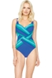 Gottex Radiance Sunrise Square Neck One Piece Swimsuit