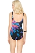 Gottex Reverie Square Neck High Back One Piece Swimsuit