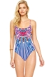 Gottex Sarasana Underwire Round Neck One Piece Swimsuit