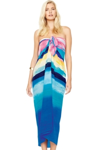 Gottex Seascape Sunrise Silk Pareo