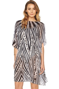 Gottex Star Leopard Beach Dress
