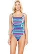 Gottex Samosir Square Neck One Piece Swimsuit