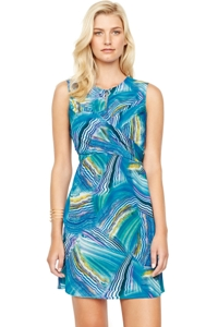 Gottex Tourmaline Silk Dress
