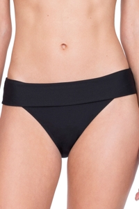 Gottex Au Naturel Black Folded Hipster Bikini Bottom