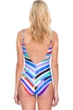 Gottex Carnival Underwire V-Neck One Piece Swimsuit